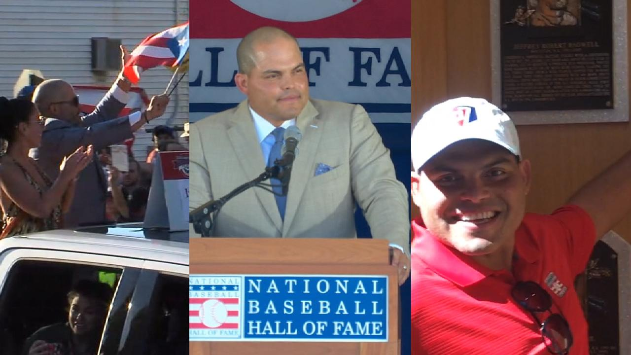 Pudge's Hall of Fame weekend