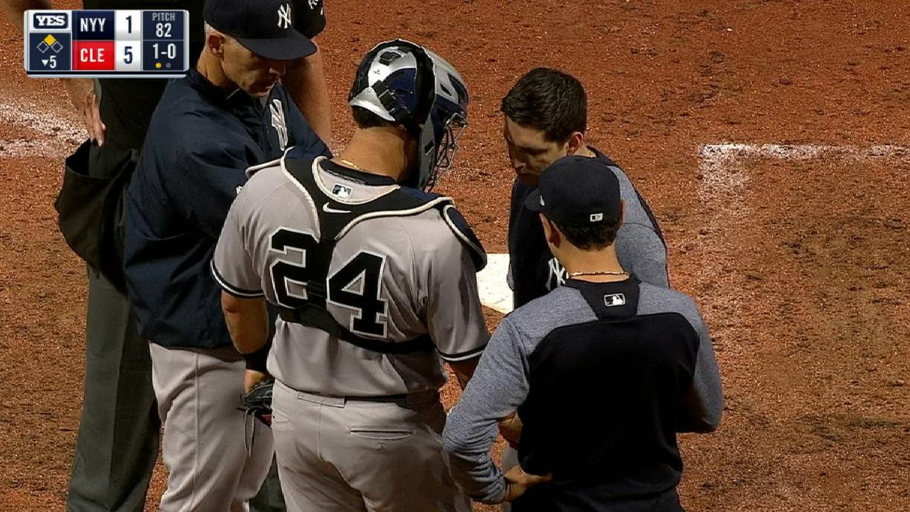 Girardi seeks solution for Sanchez's miscues