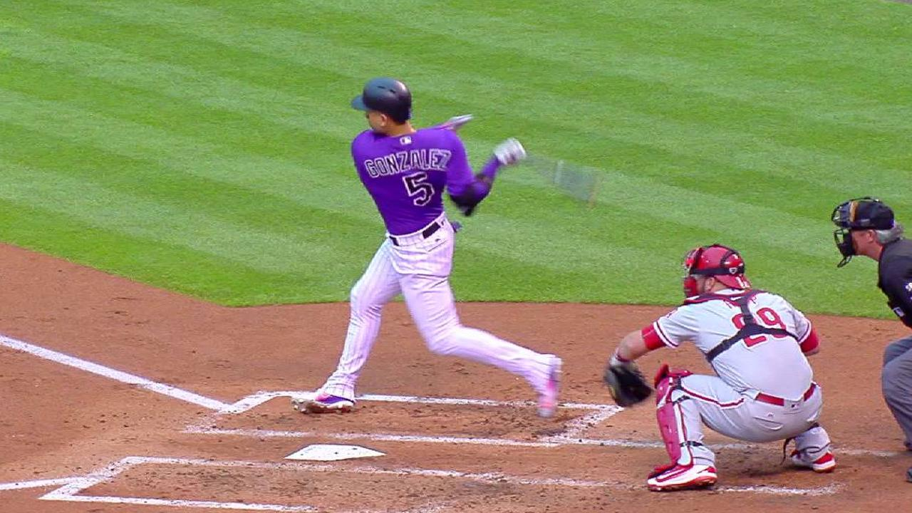 CarGo's two-run single