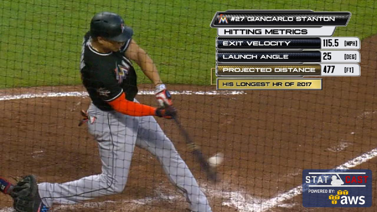 Statcast of the Day: Stanton's record-setting HR