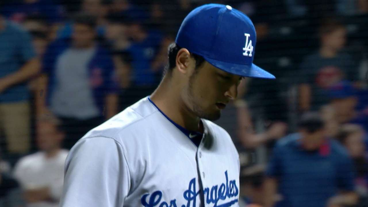 Darvish K's 10 in Dodgers debut