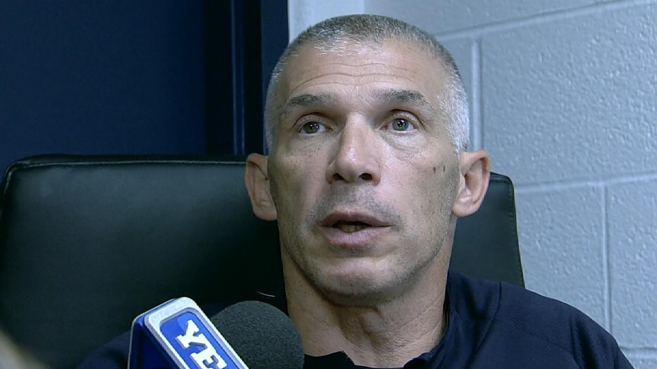 Girardi sits Sanchez, stresses D must improve