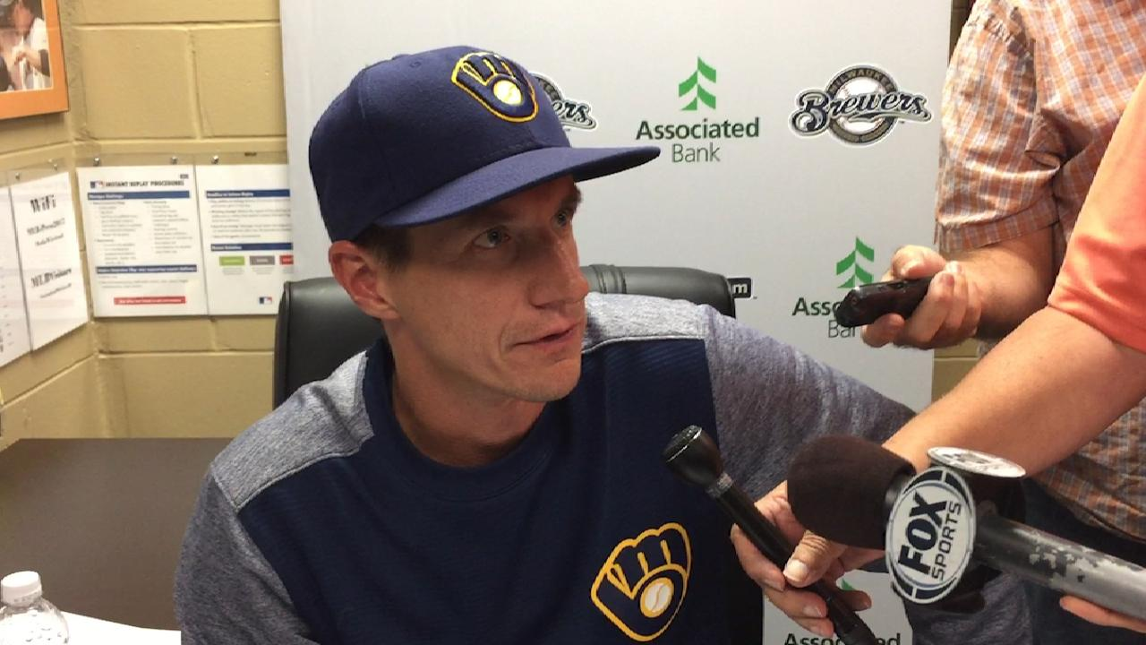 Counsell on 2-0 win over Tampa
