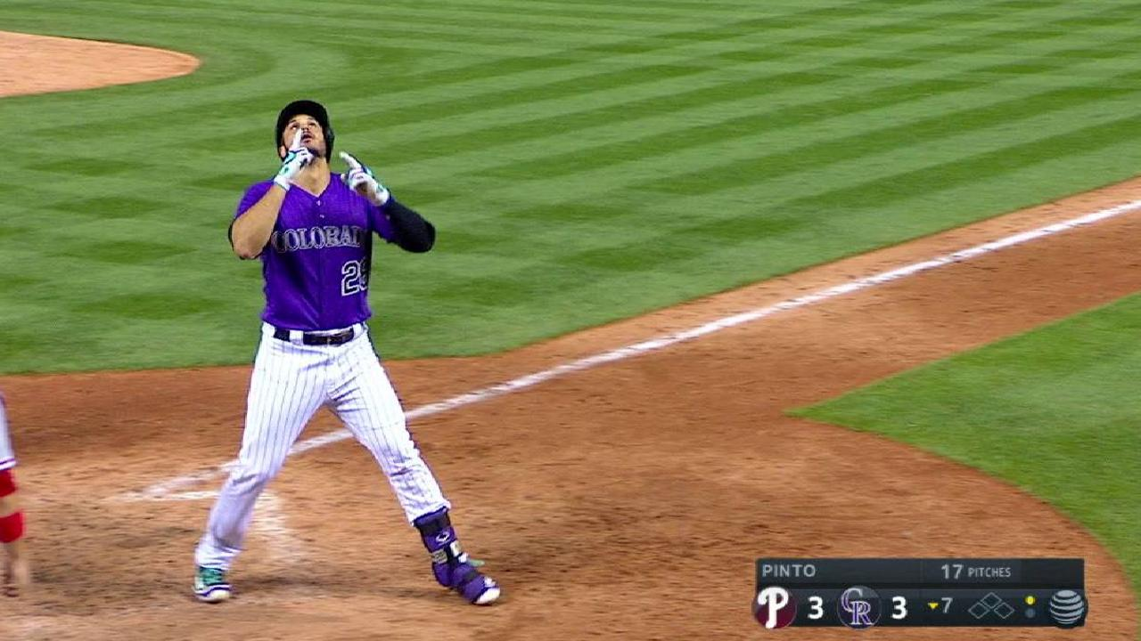 Arenado's 25th home run