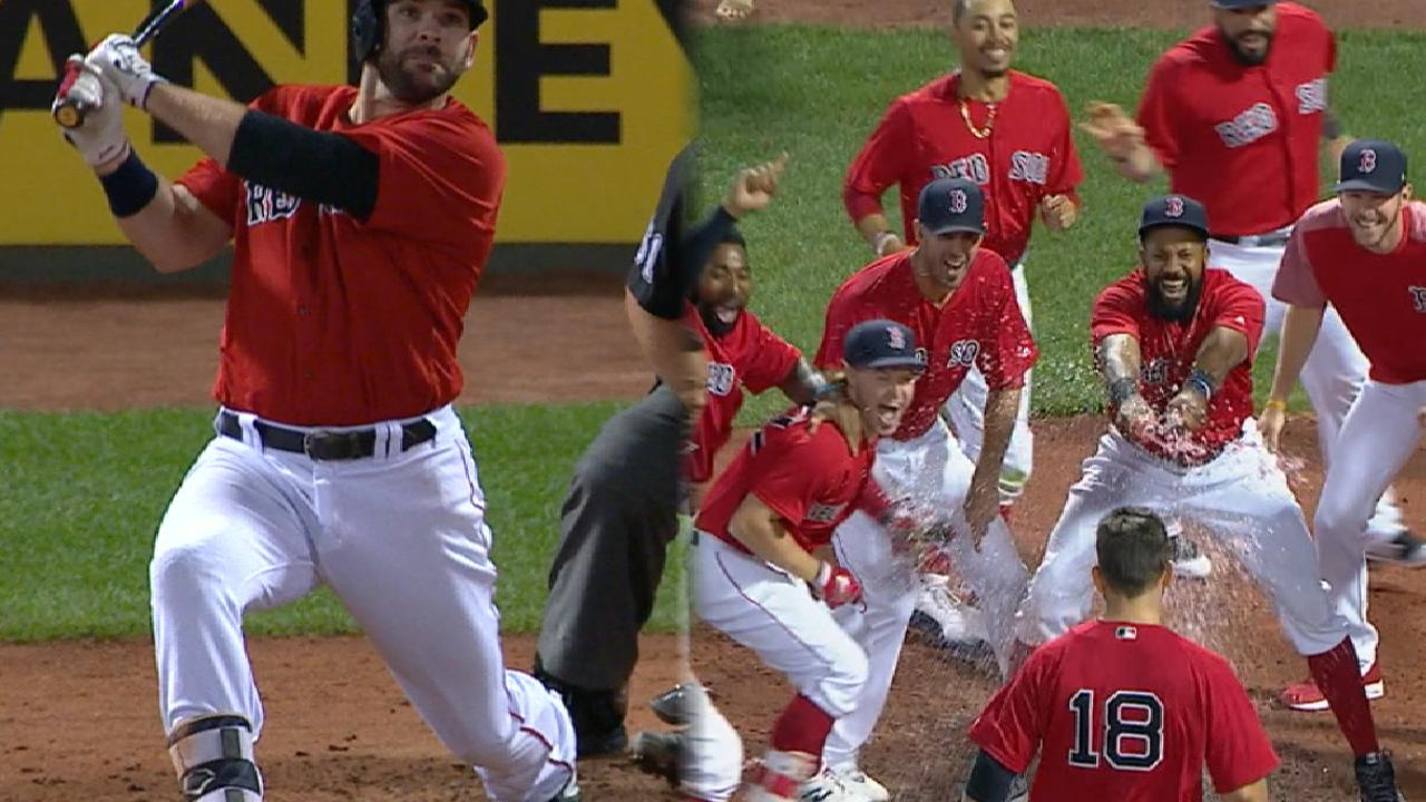 Mitch perfect! Red Sox get walk-off HR in 11