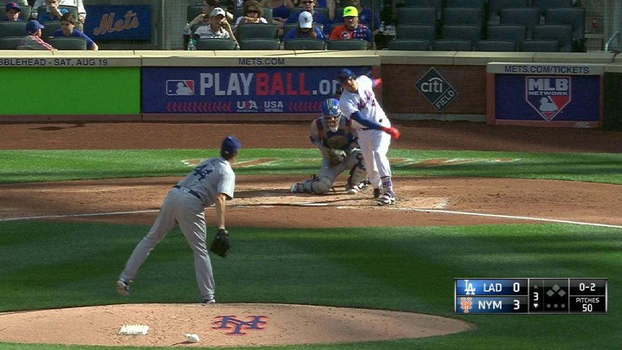 Hill strikes out Flores