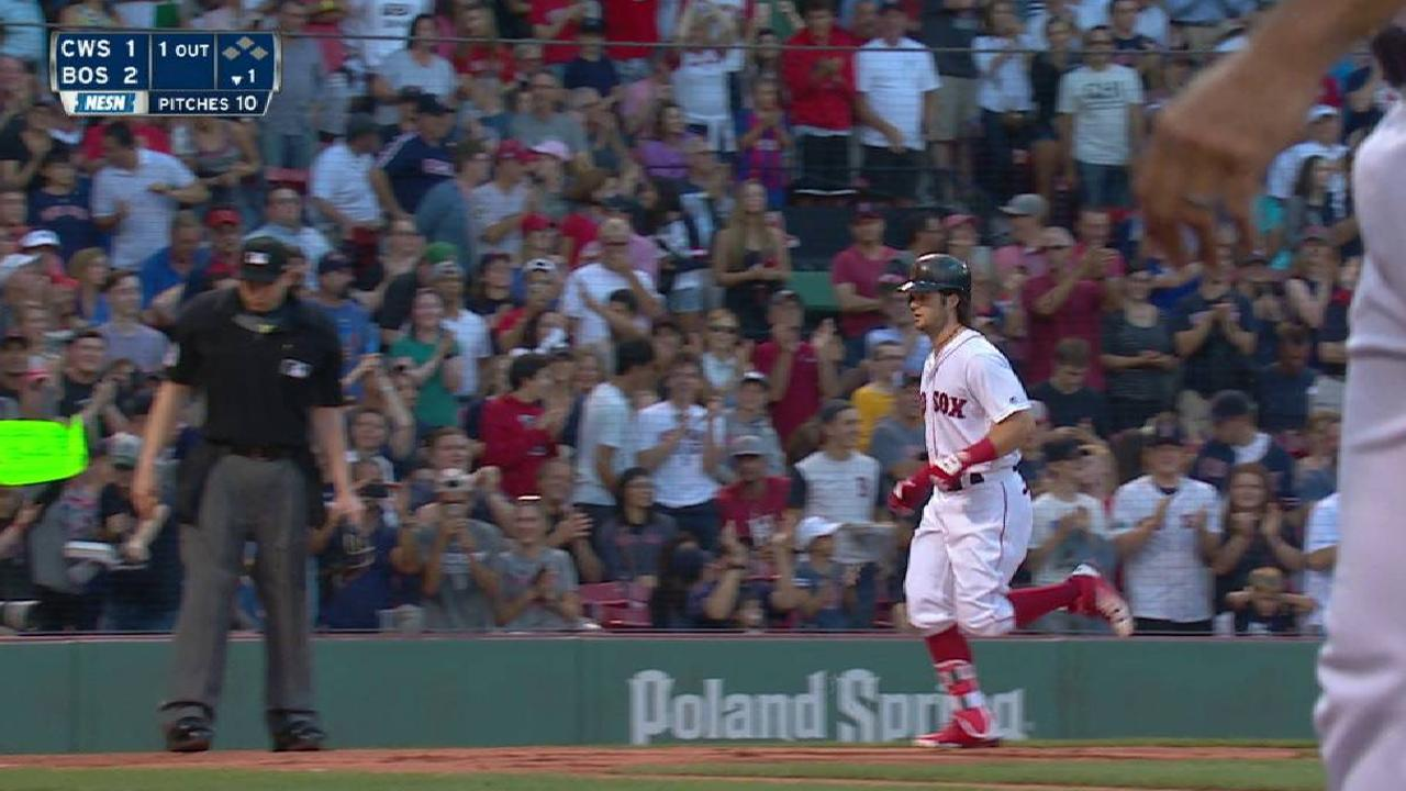 Red Sox roll past White Sox, win 5th straight