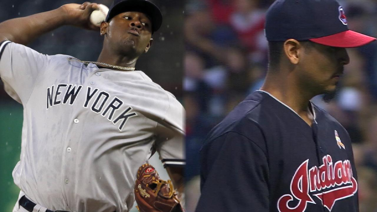 Severino squares off against Carrasco on MLB.TV