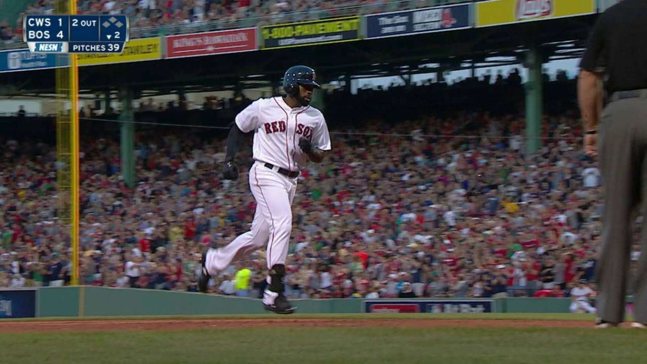 Bradley Jr.'s two-run homer