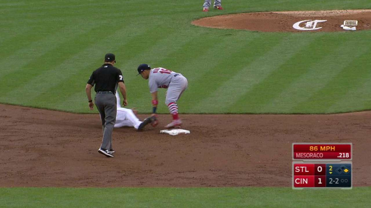 Lynn, Molina start double play
