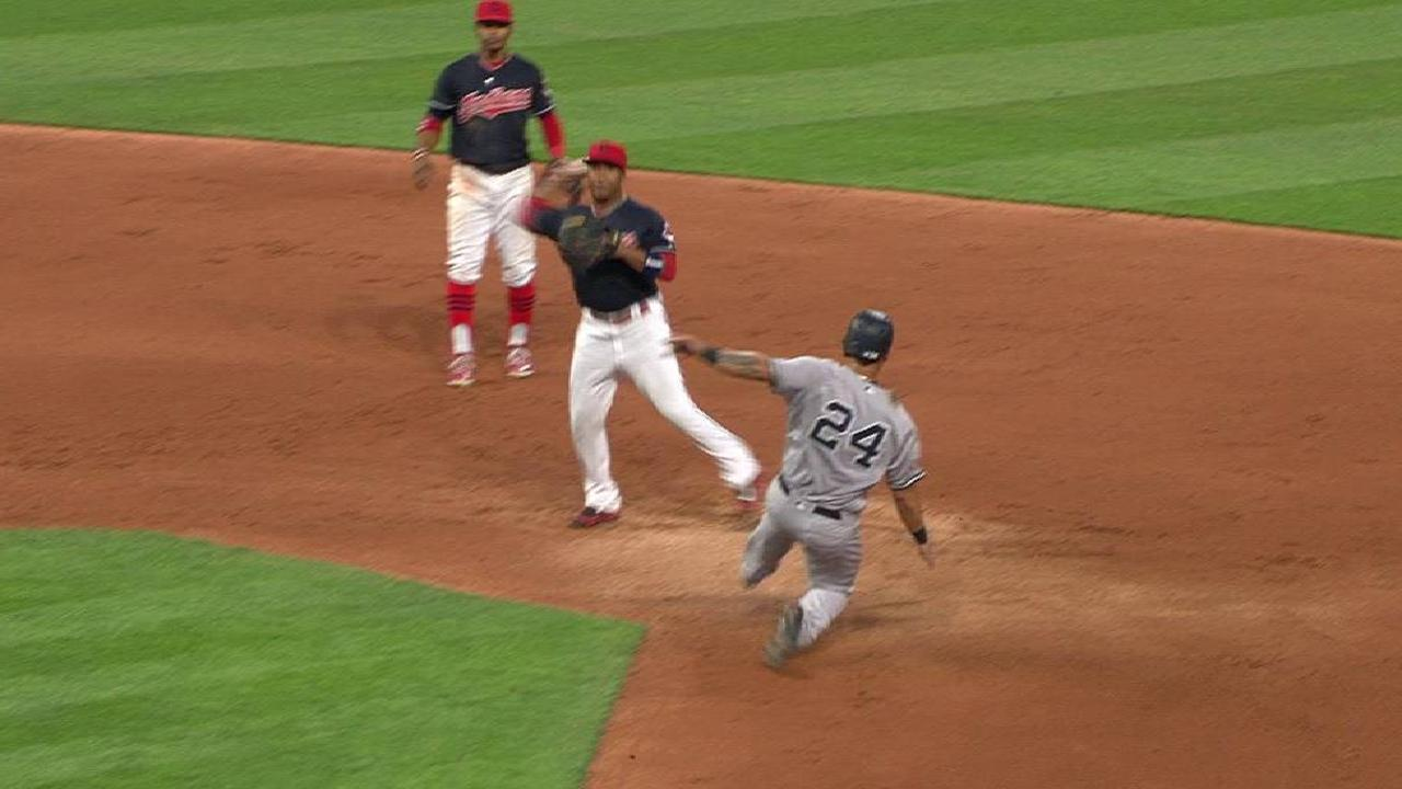 Salazar escapes trouble in 6th