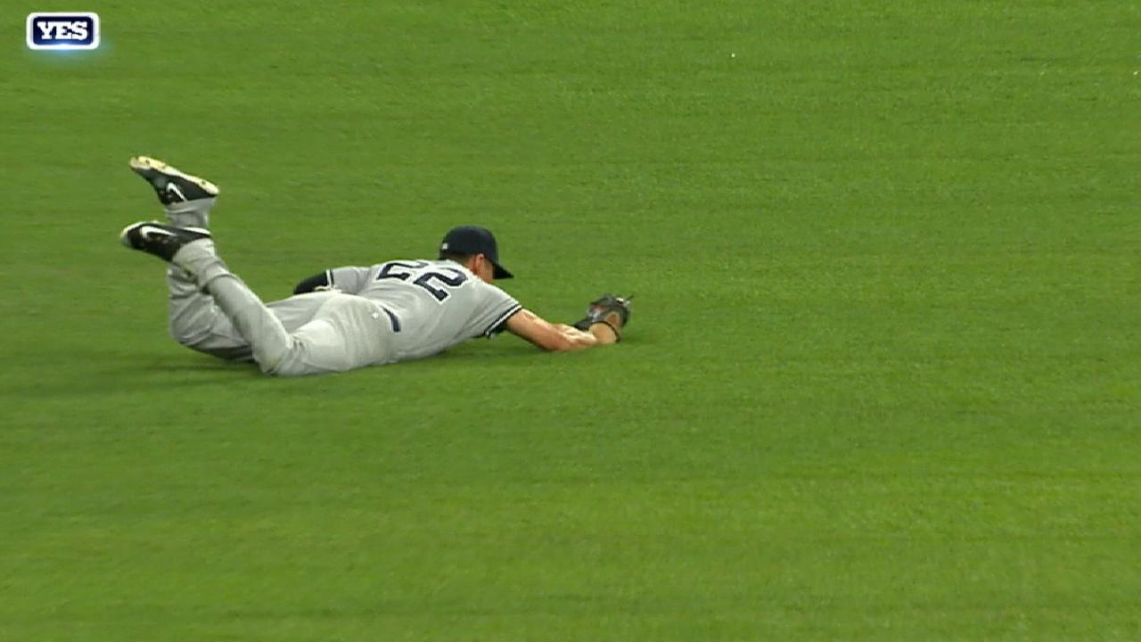 Ellsbury's nice diving catch
