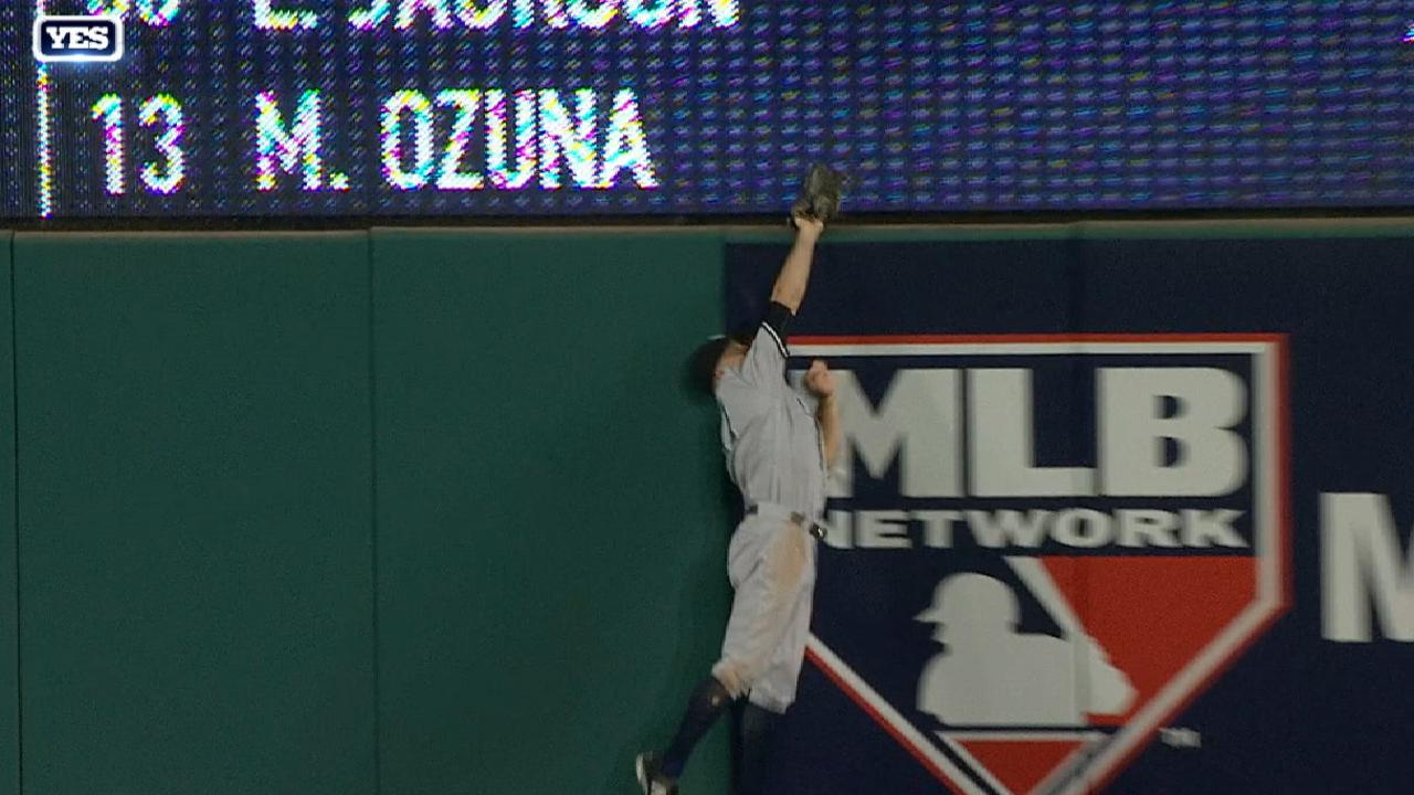 Gardner's spectacular catch