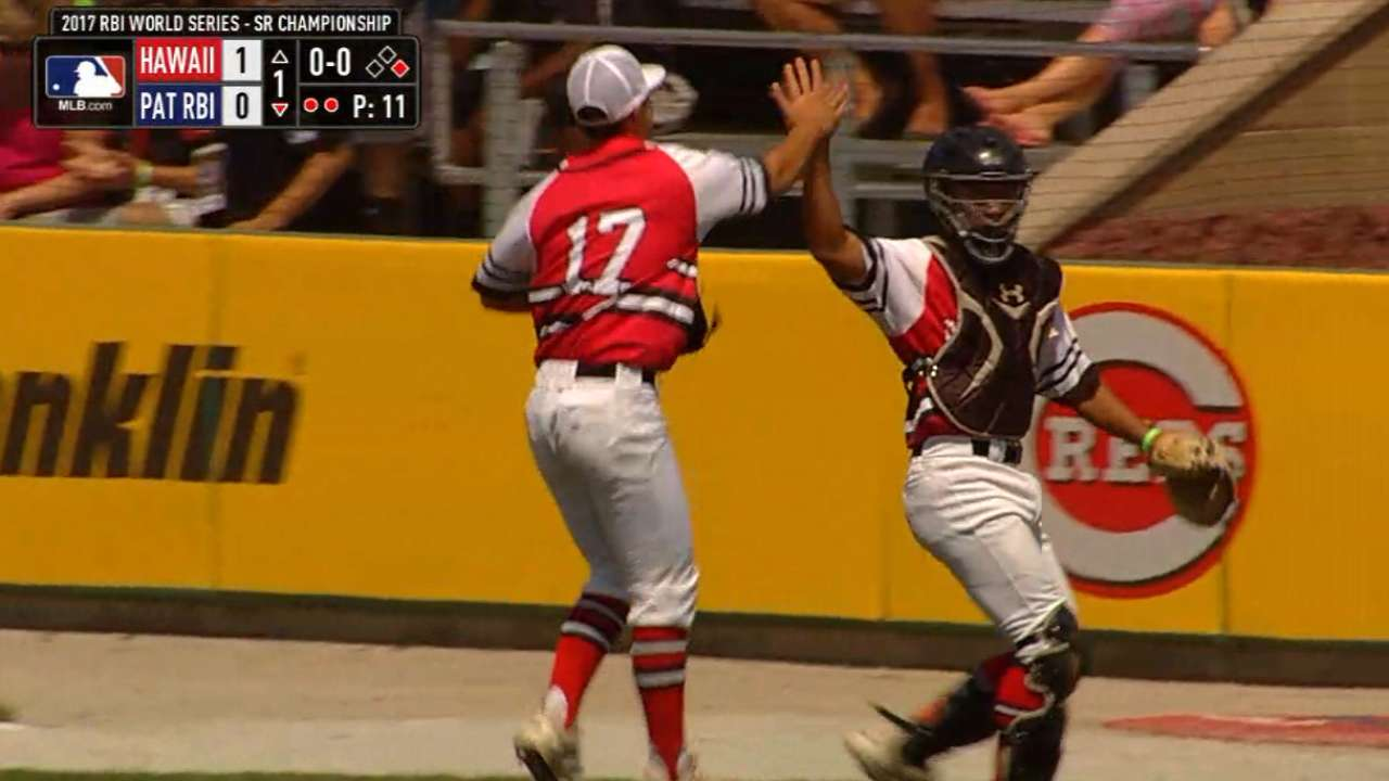 Hawaii wins Sr. Division RBI World Series title