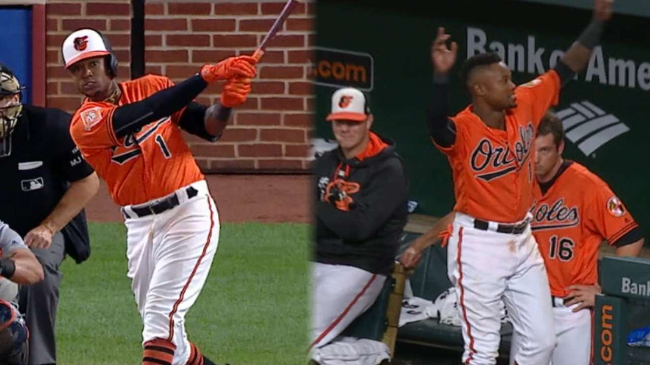 Masterstroke: Beckham hits O's 10,000th HR