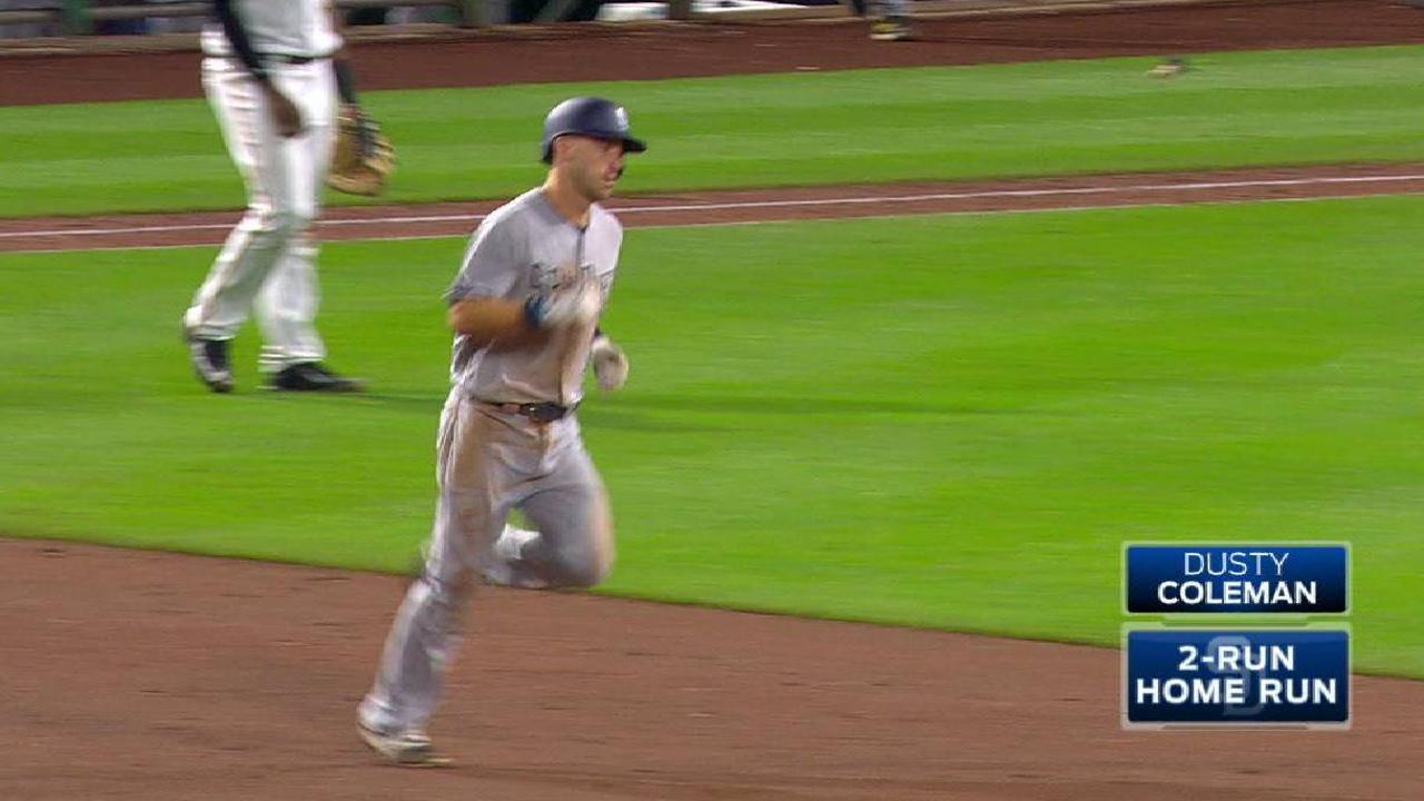 Coleman's two-run home run