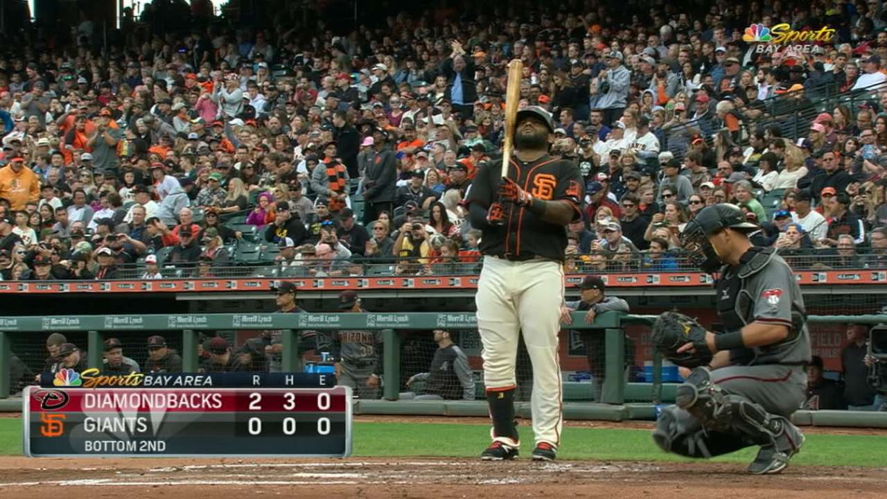 Sandoval recognized by fans