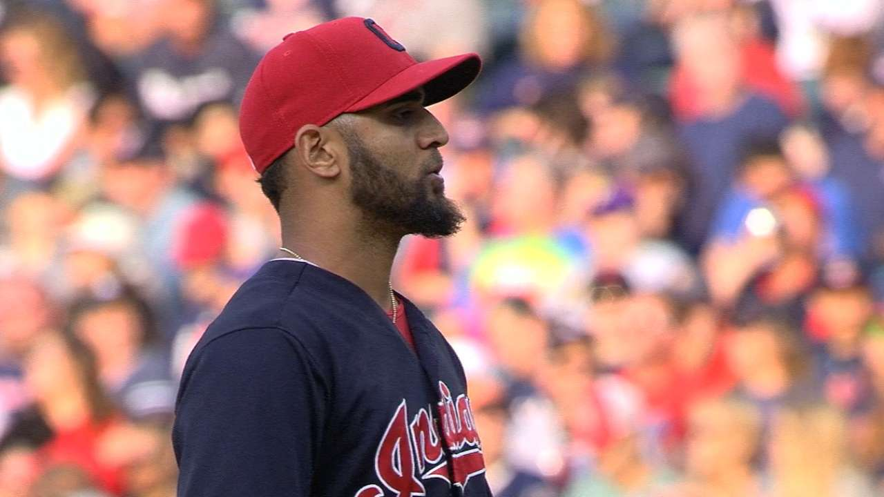 Tribe sees Salazar extend post-DL trend
