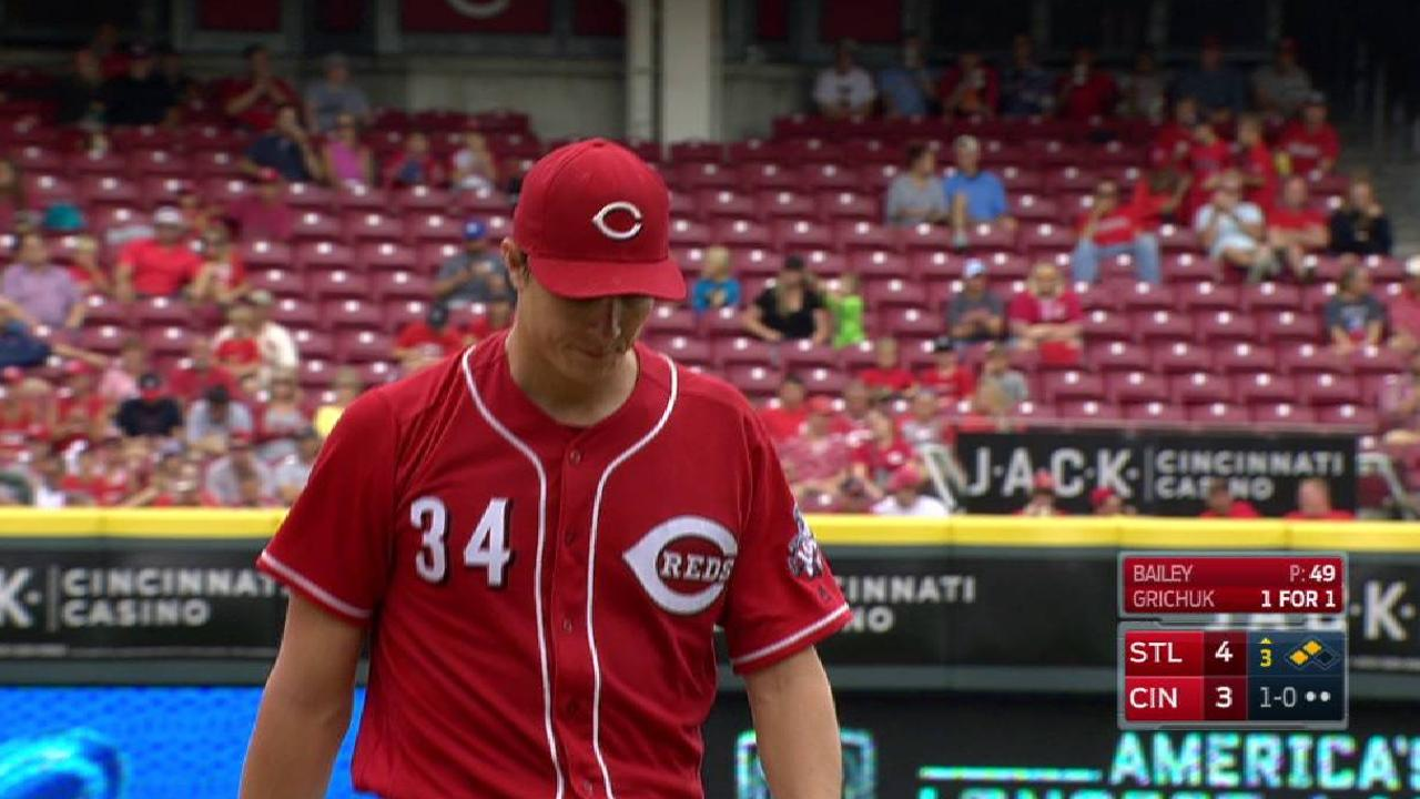 Bailey escapes 3rd-inning jam