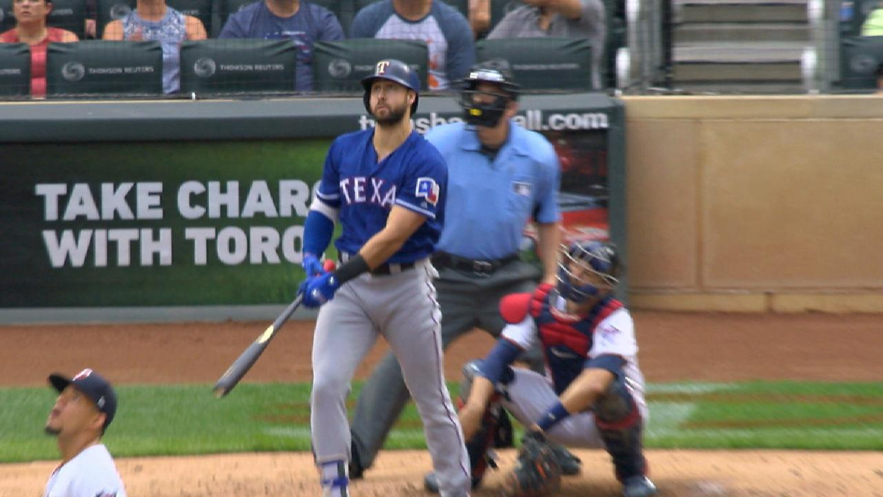 Rangers Score 5 In 1st, But Fade In Loss To Twins