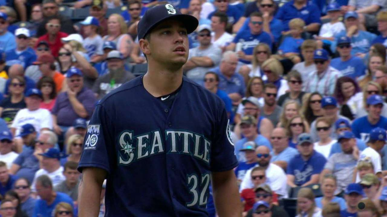 Gonzales strikes out Hosmer