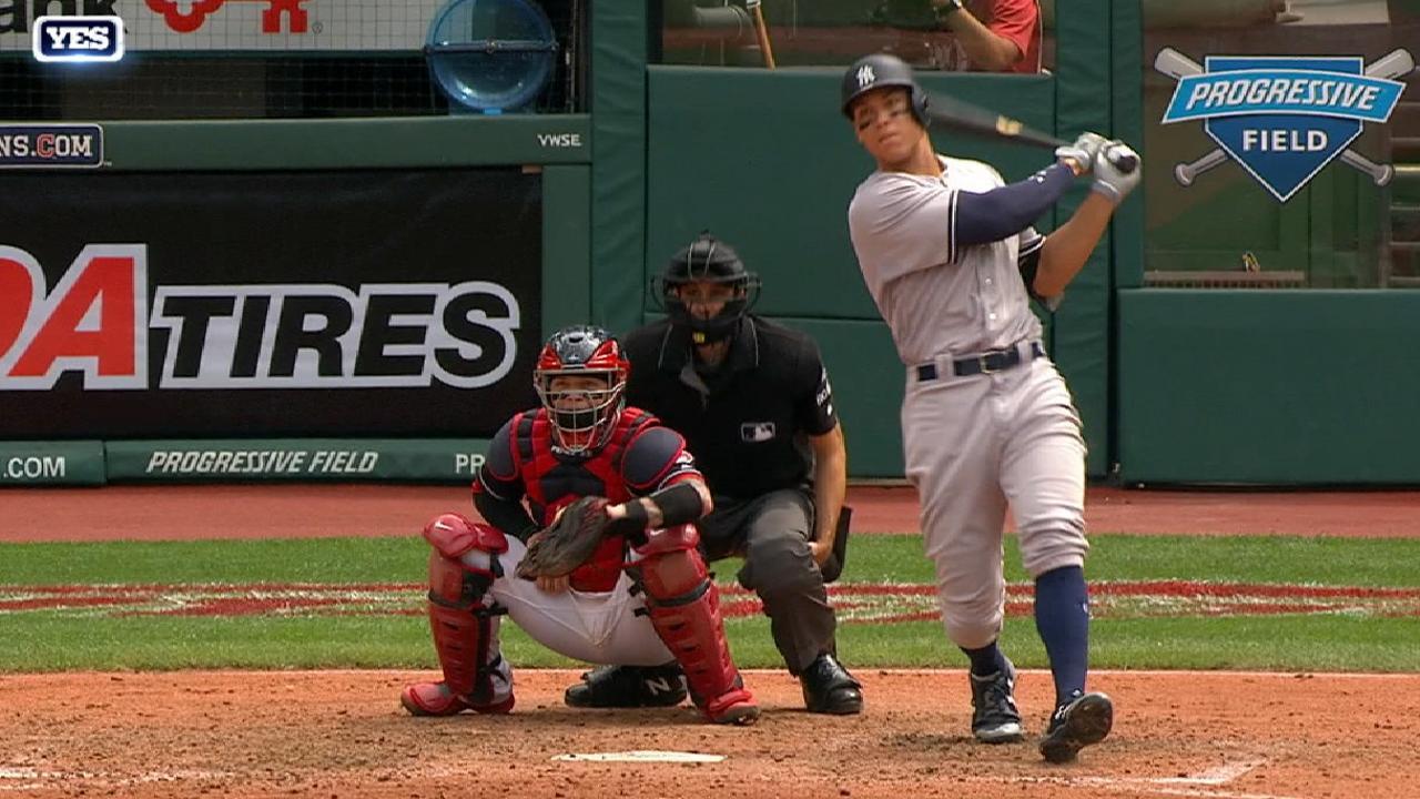 Judge's three-run home run