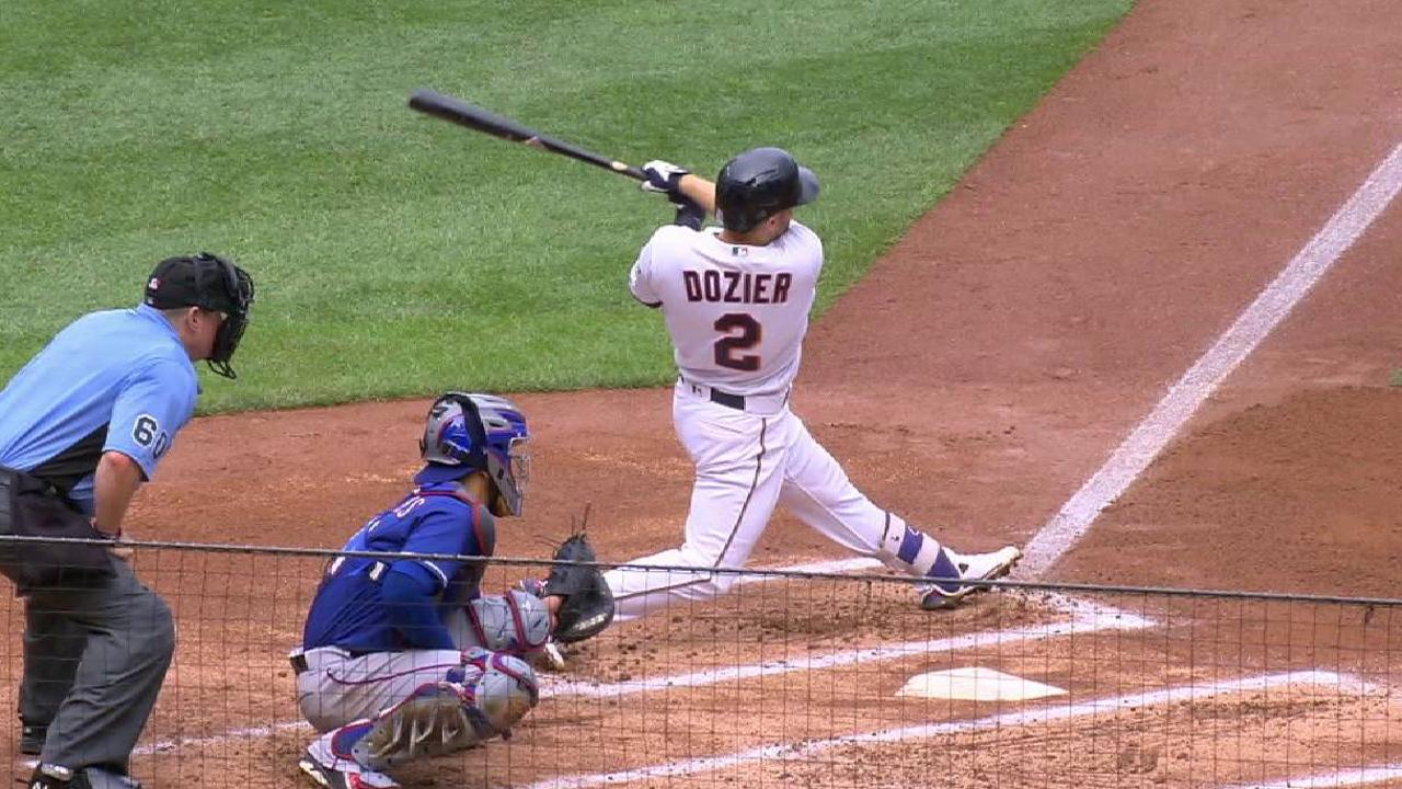 Dozier's two-run home run