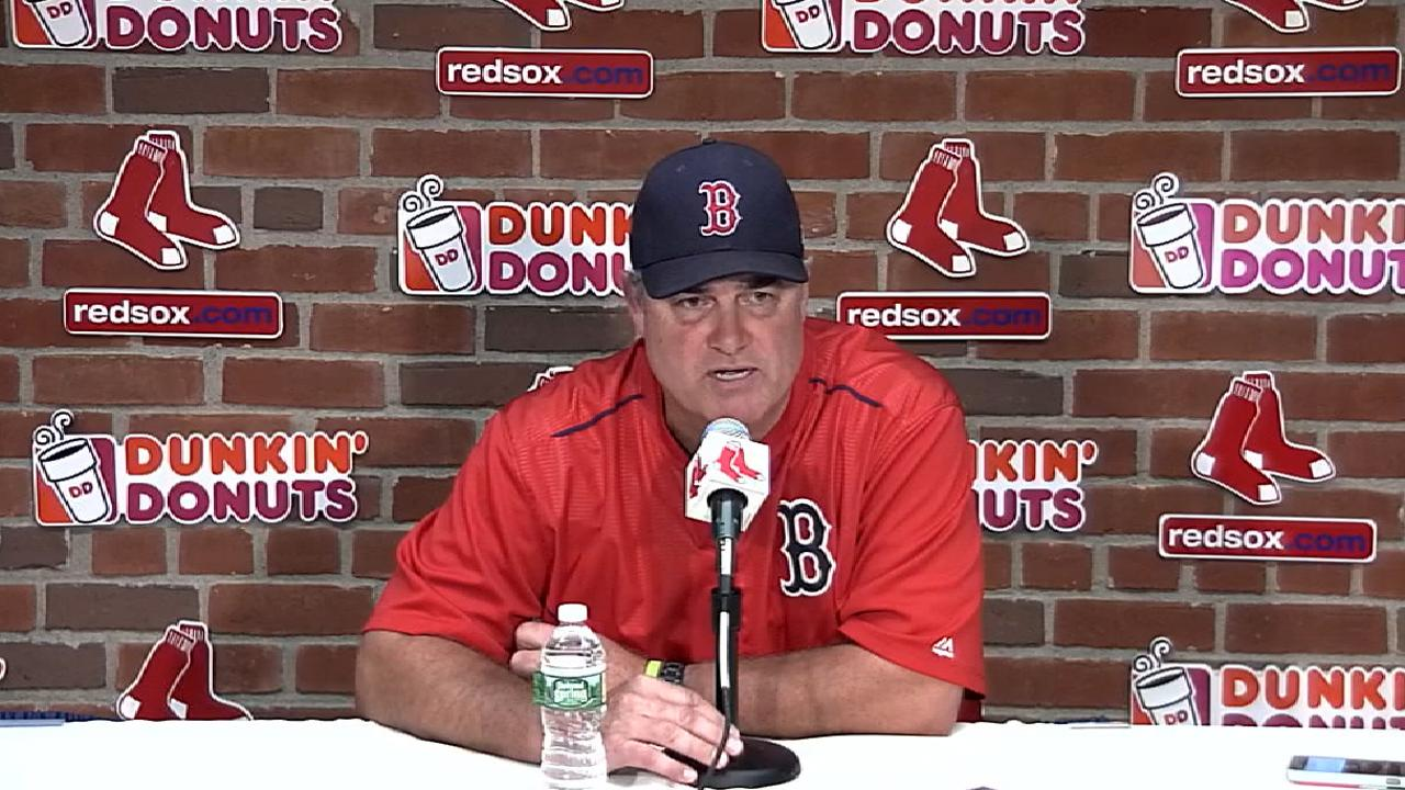Farrell on the offense in win
