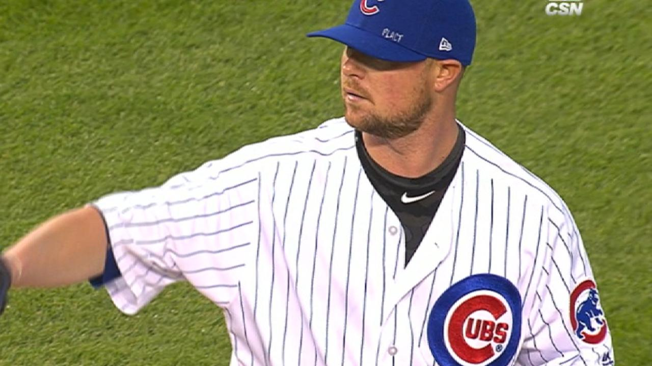 Cubs' repeat contingent on starters' surge