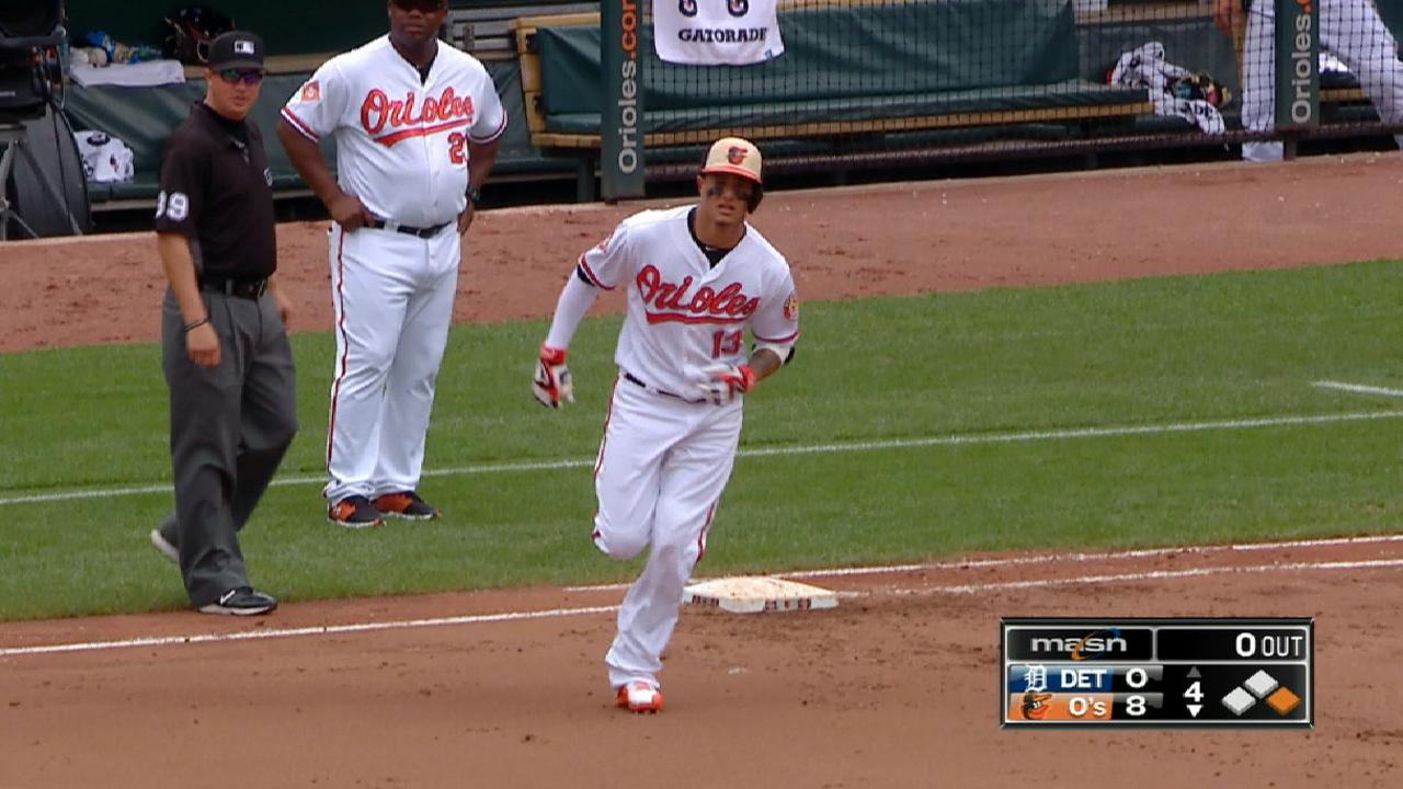 Machado's big day at the plate