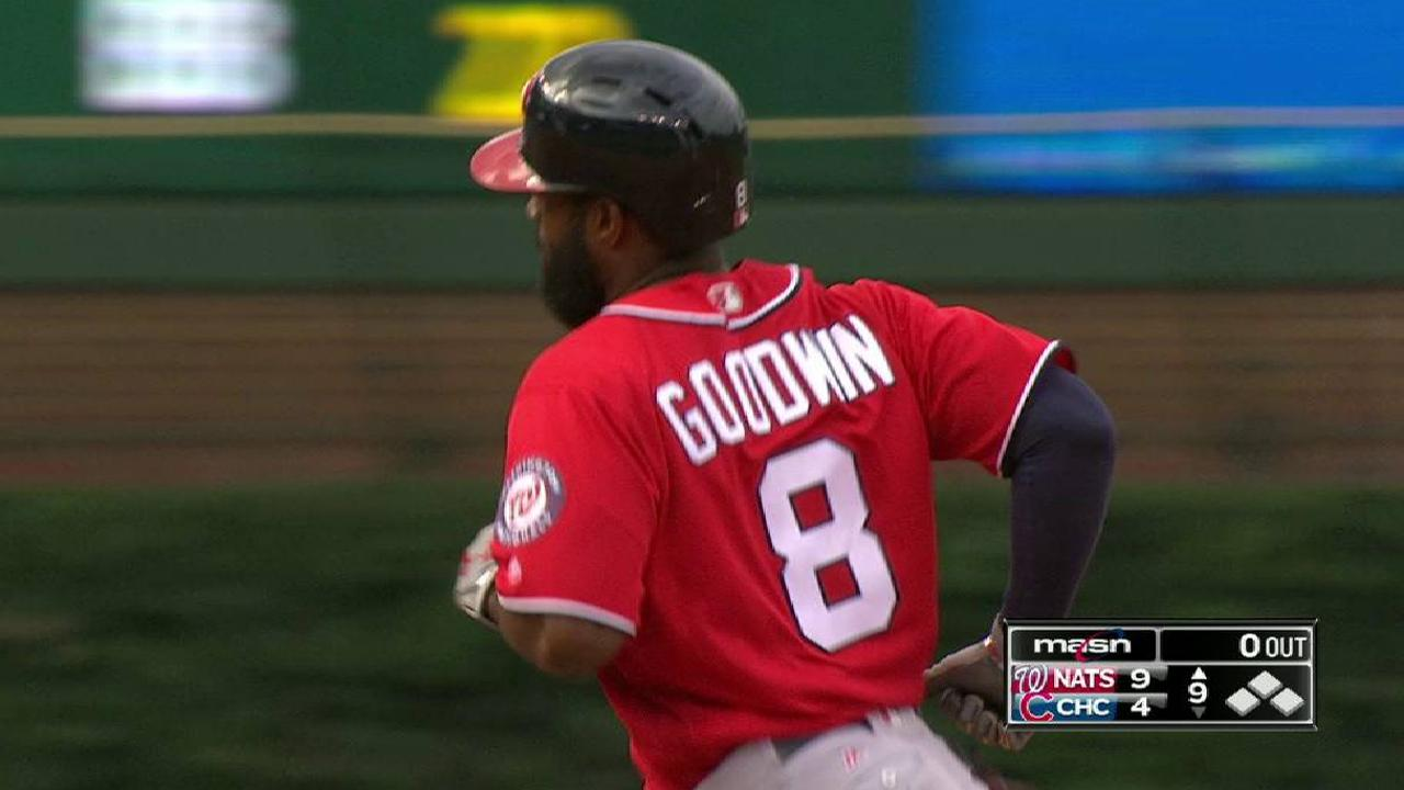 Goodwin's solo HR to right