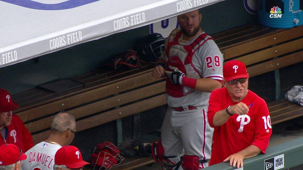 Bowa is ejected in the 7th