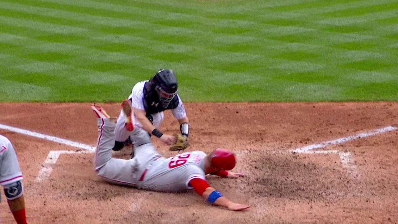 Parra, Story throw out Rupp