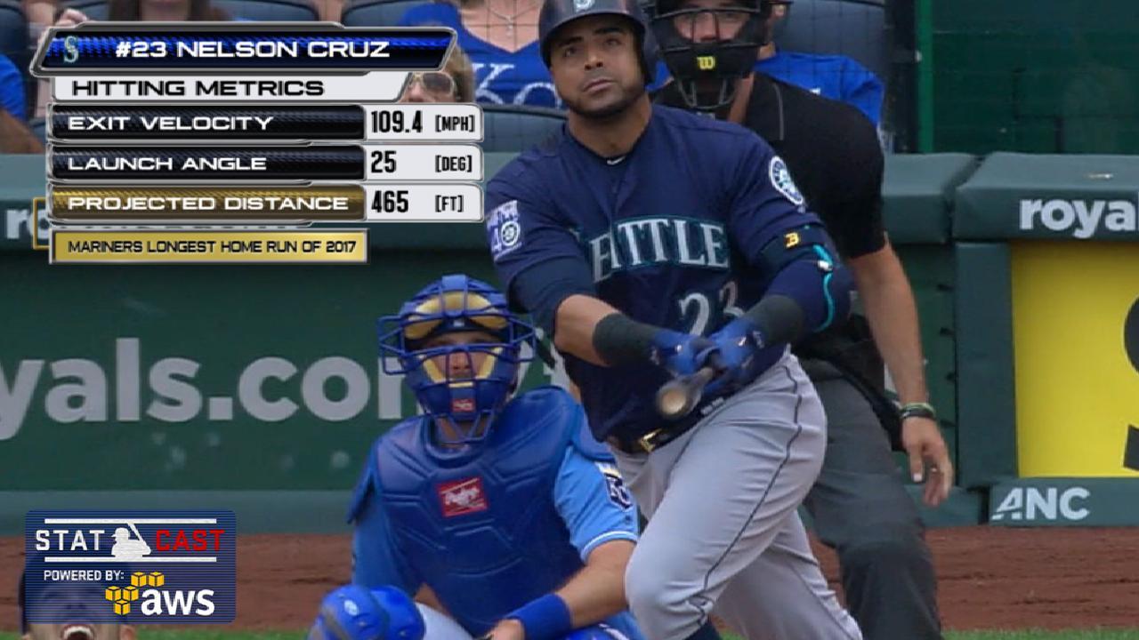 Statcast: Cruz's 465-ft. homer