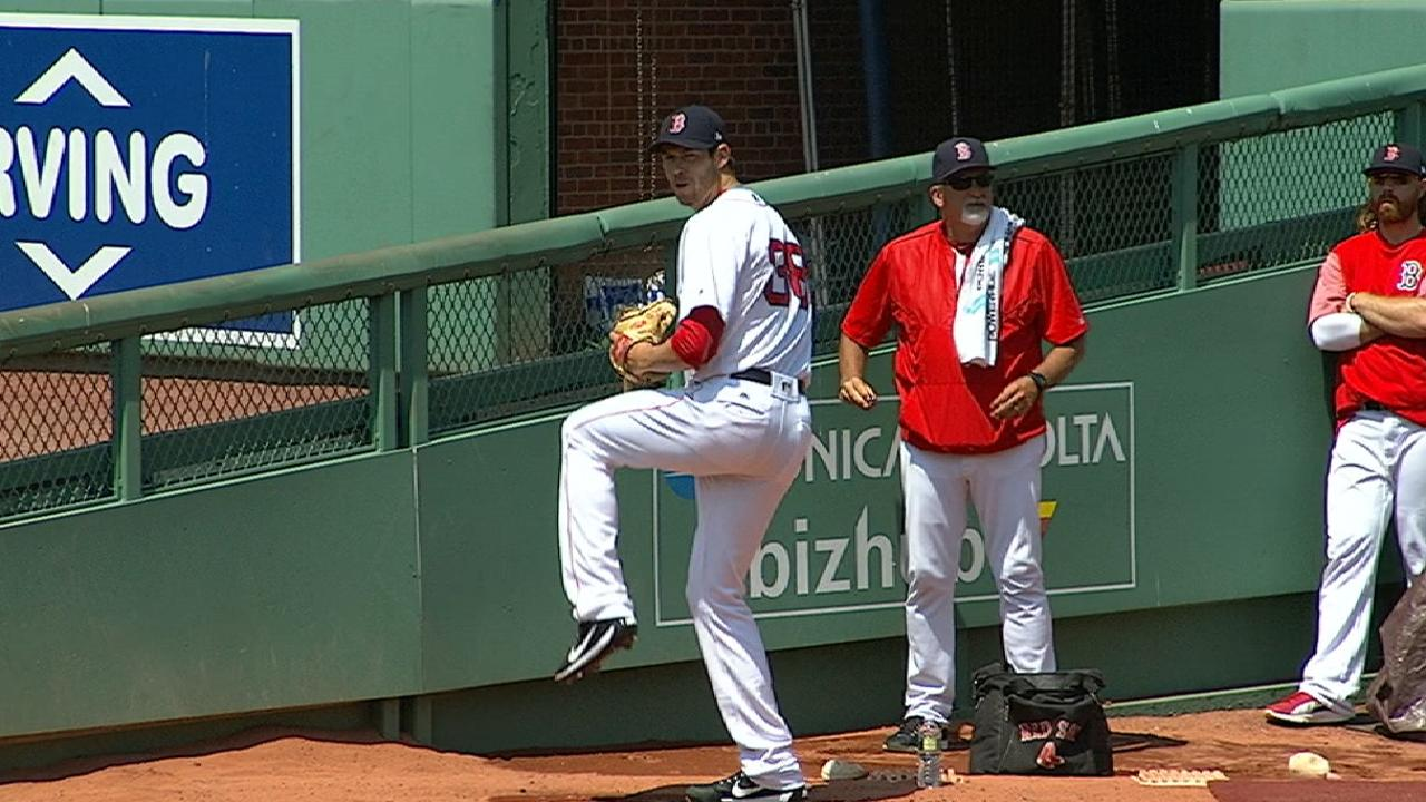 Fister K's seven in 6 1/3