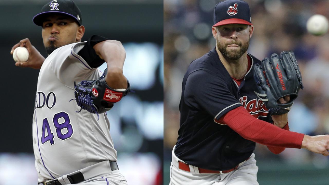 Aces nigh: Kluber, Sale, Kuechel on MLB.TV