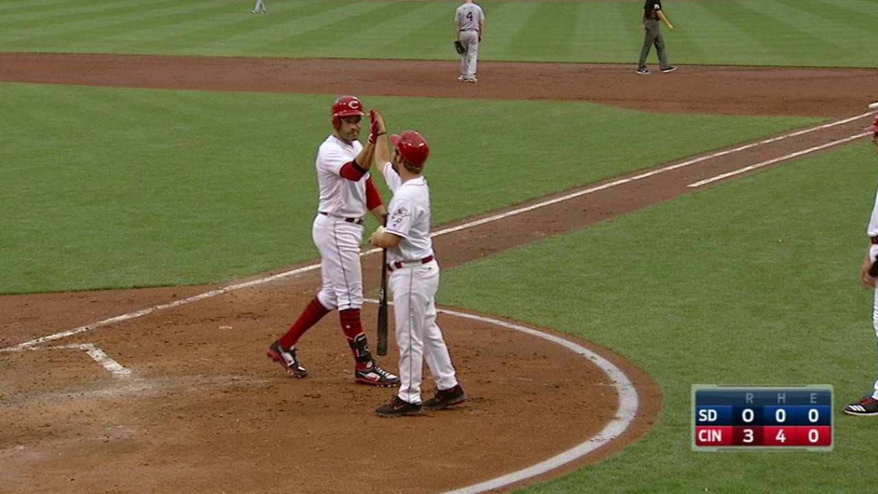 Votto's two-run home run