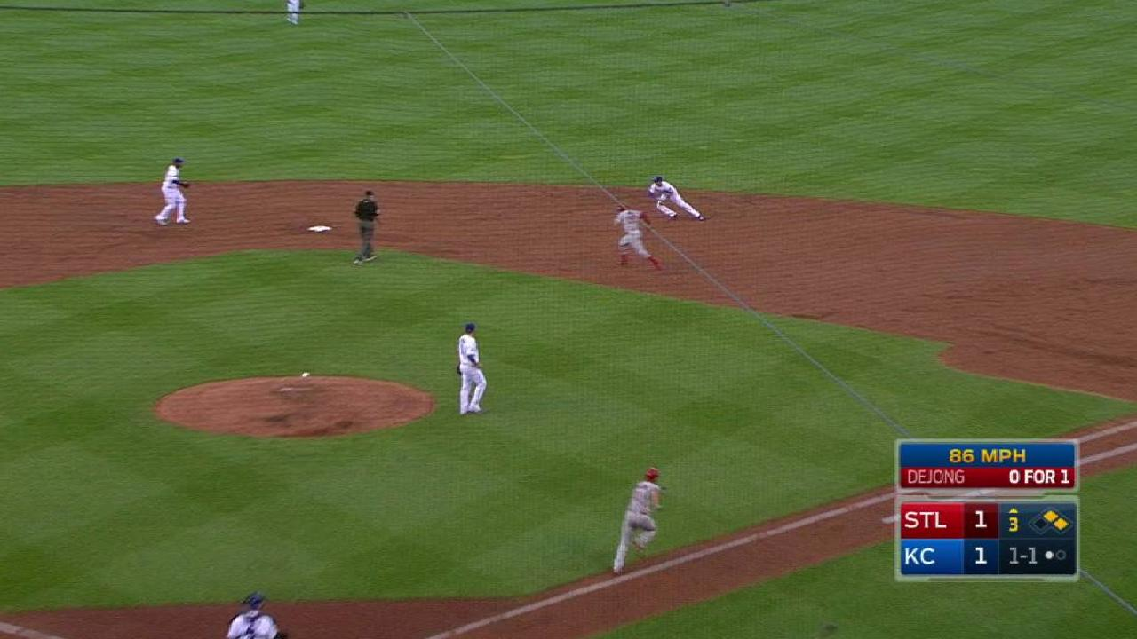 Kennedy escapes jam with a DP
