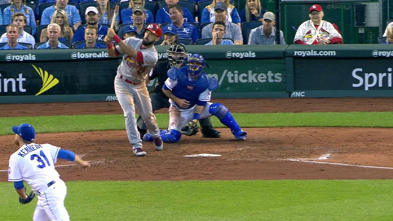 Cardinals' six-run 4th