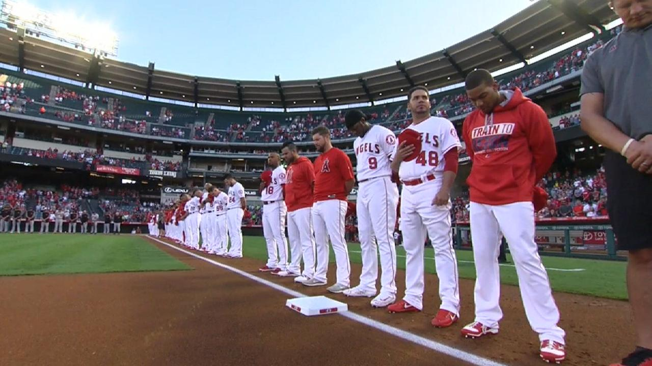 Angels, Orioles remember Baylor