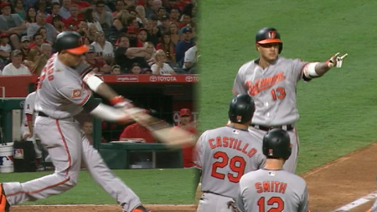 Manny's slam spoils Trout's birthday bash