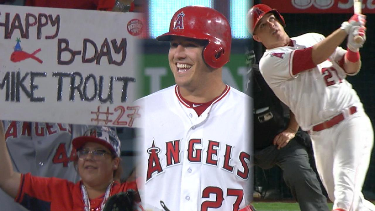 Must C: Trout's birthday bash