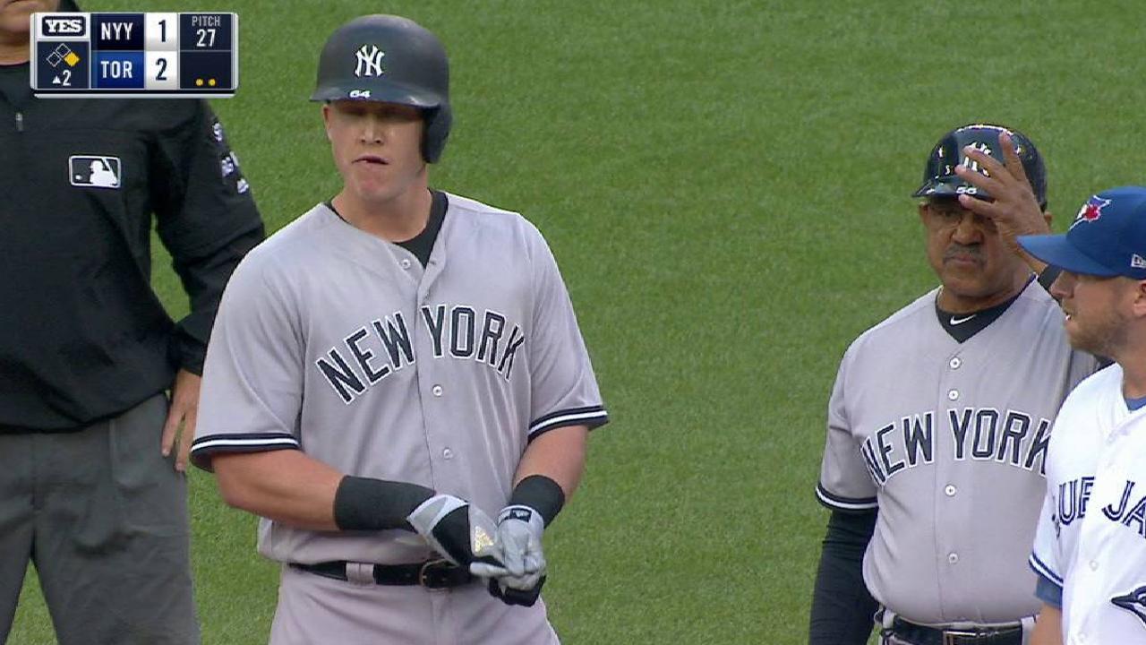 Yankees lose Sabathia, opener in Toronto