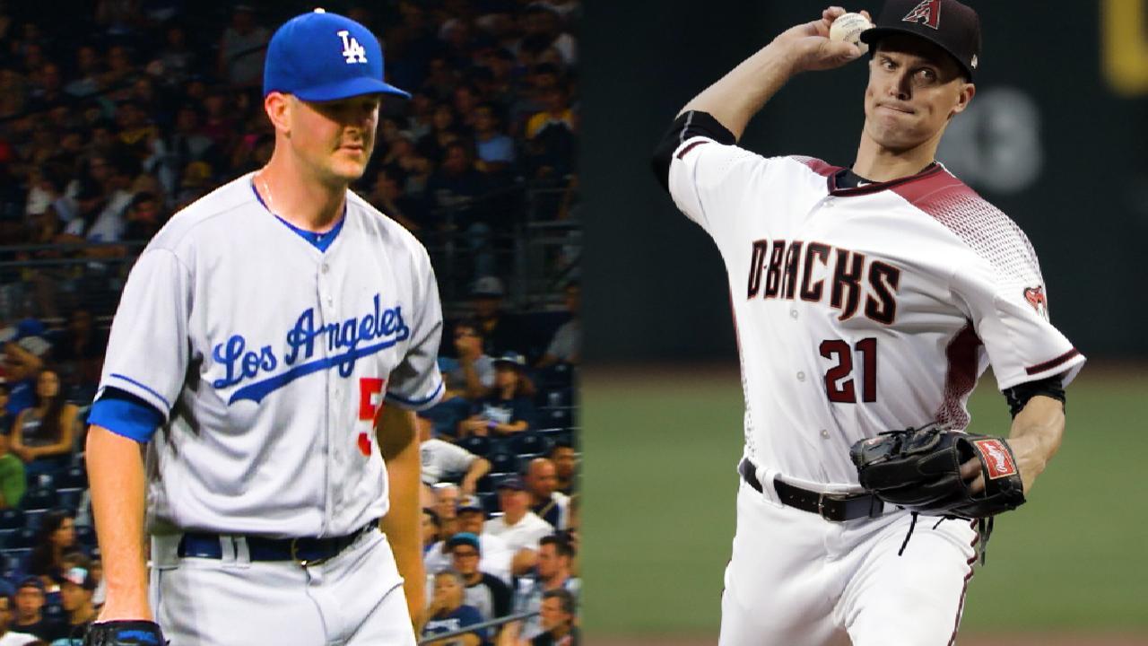 Wood, Greinke to duel in desert on MLB.TV