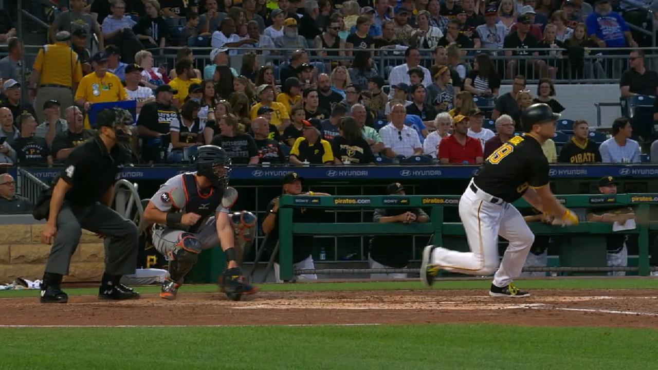 Kuhl's two-run single to left