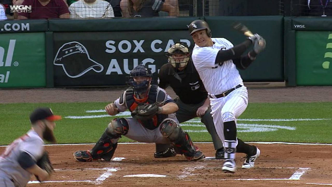 Avisail Garcia's RBI single