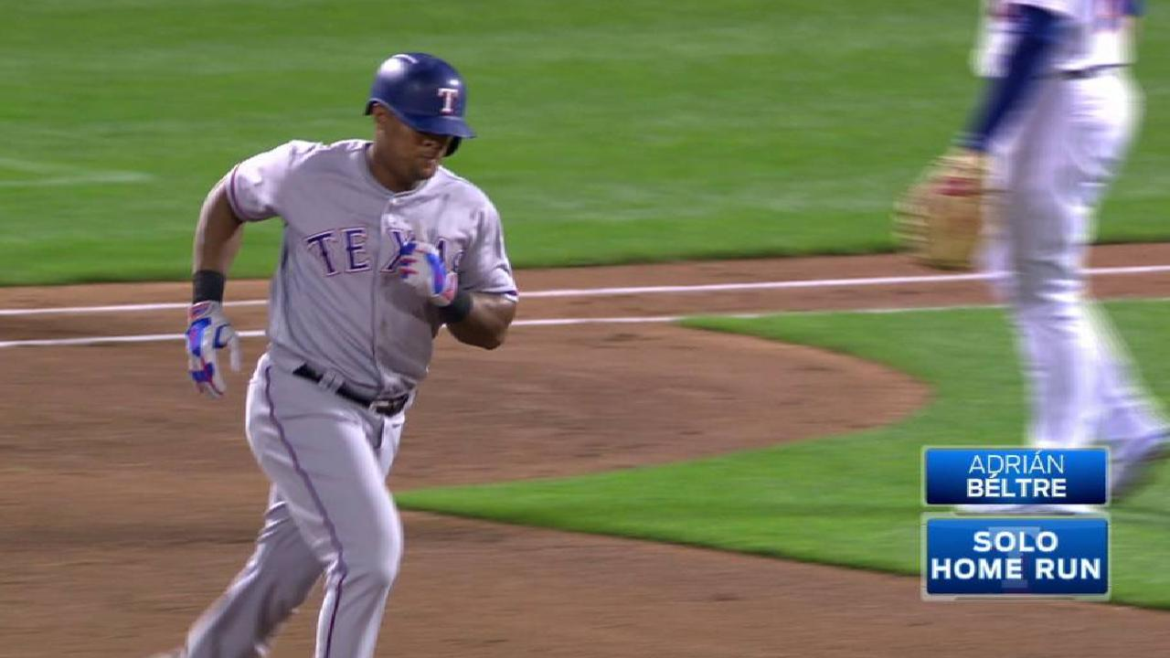 Beltre's solo home run