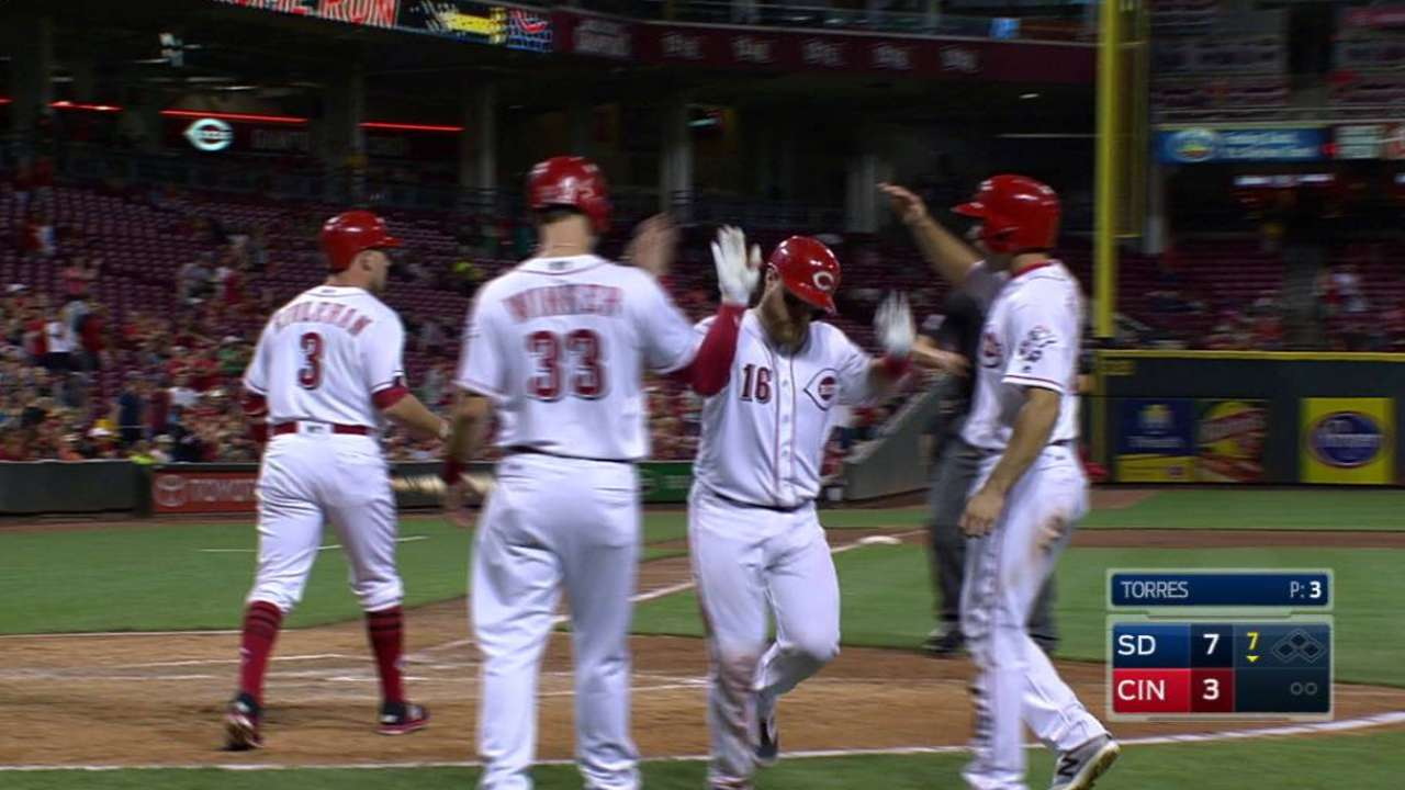 Barnhart's three-run homer