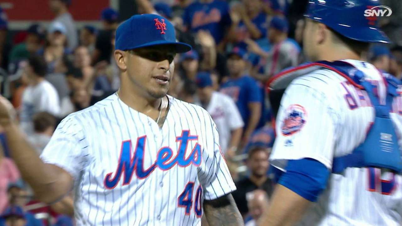 Ramos locks down first save with Mets