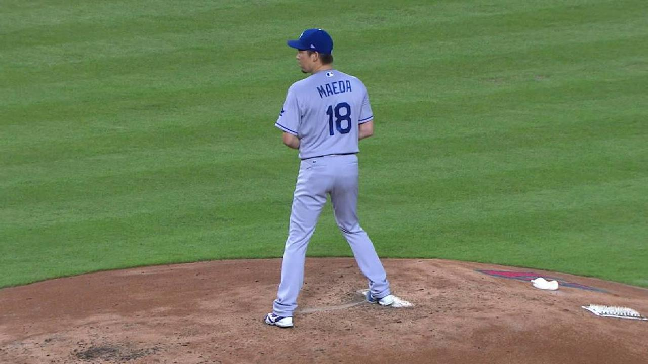 Maeda escapes jam with a K